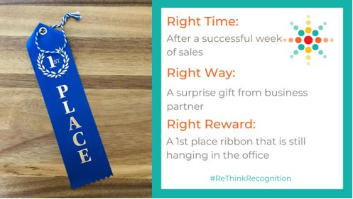 Right Time, Right Way, Right Reward
